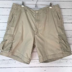 Men's Nike Golf Tan Cargo Shorts